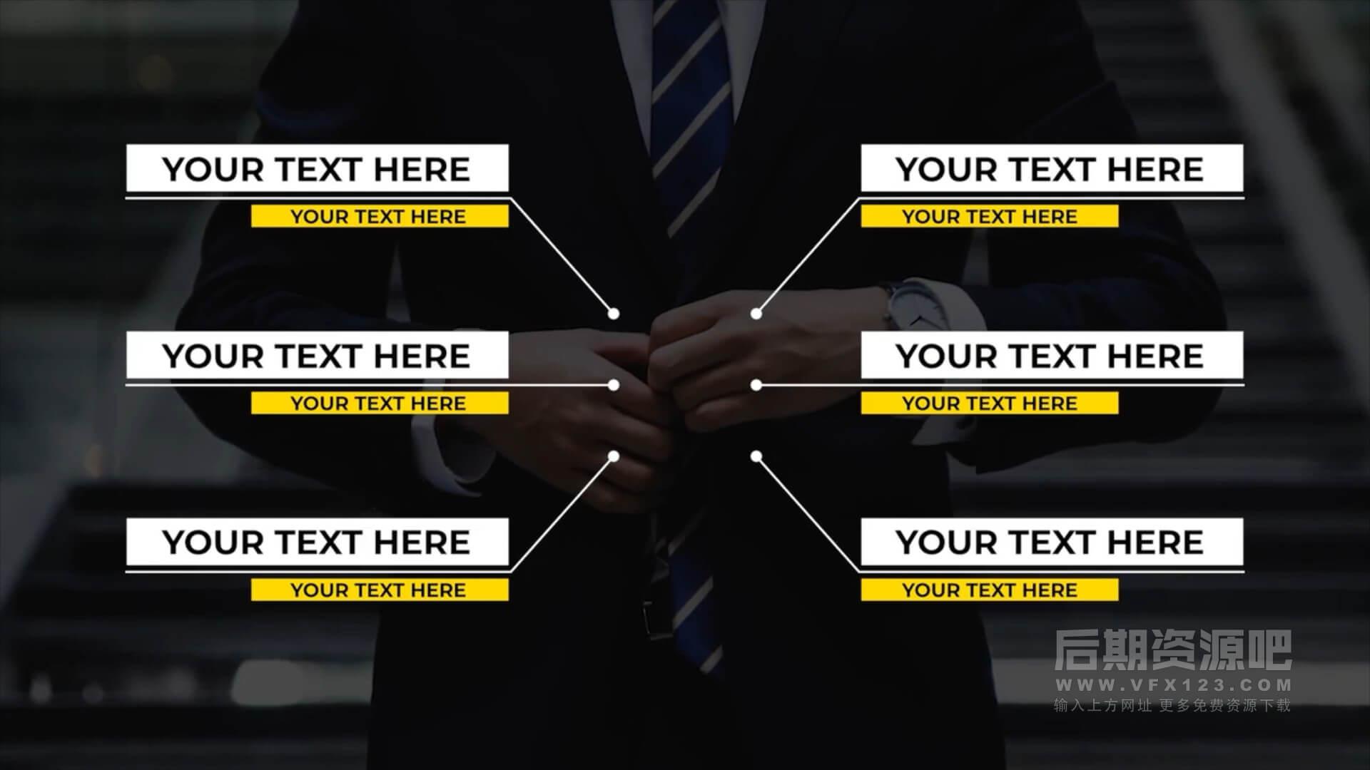 fcpx插件 常用文字标题动画包 字幕条标注文本动画等 Animated Text Bundle