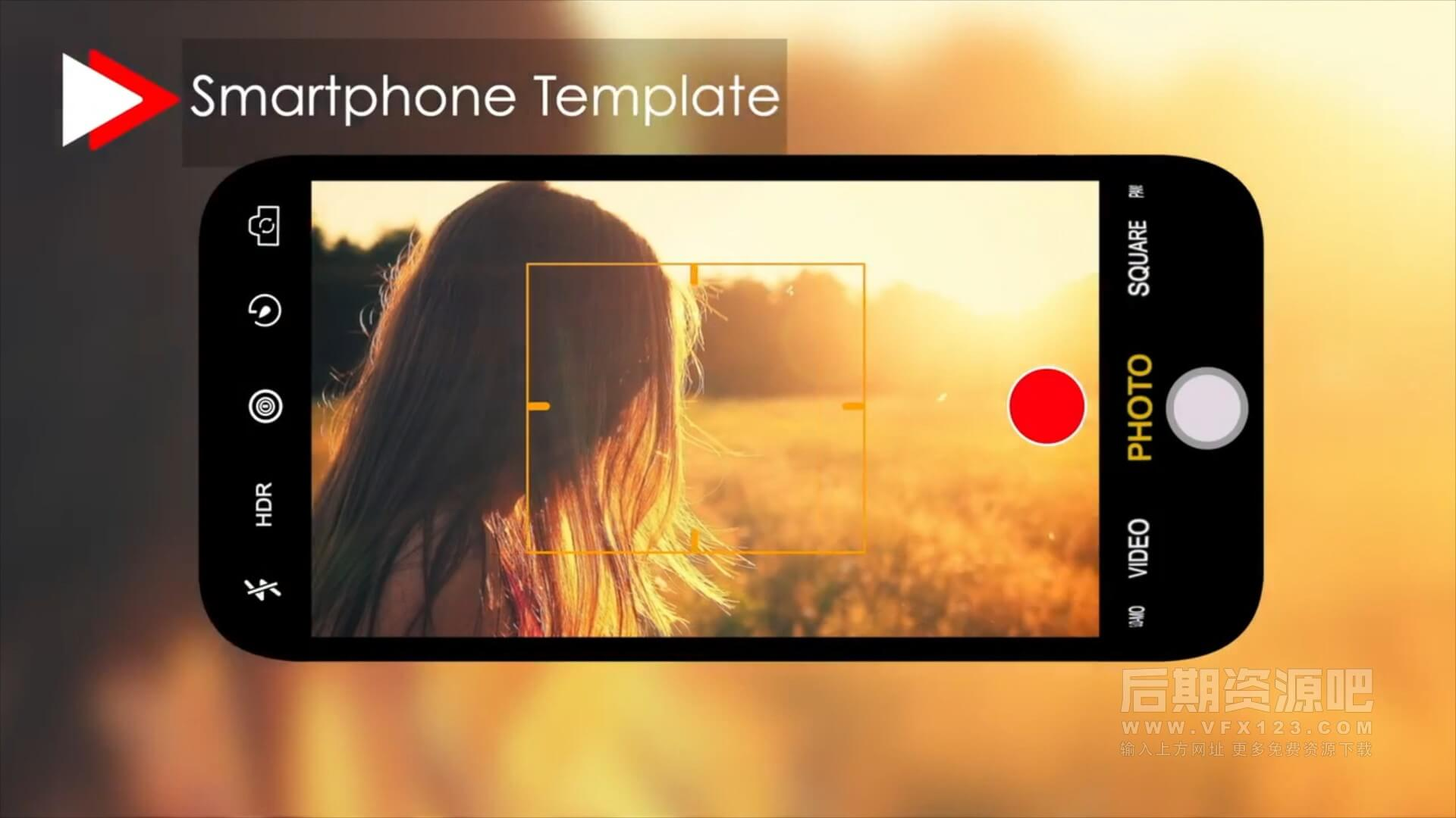 fcpx插件 数码相机手机监控取景器屏显对焦等动画模板 Camera Viewfinder