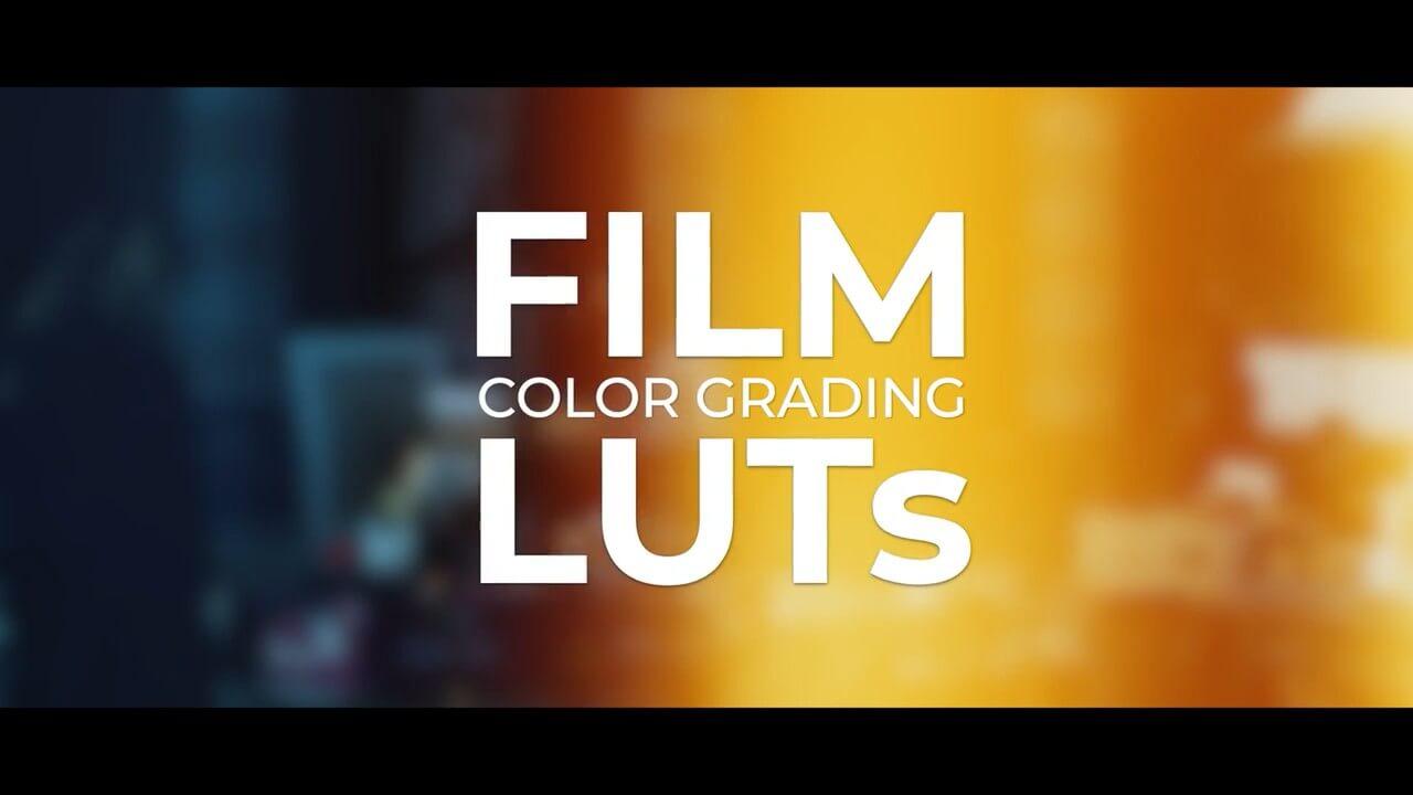 LUTs预设 12组电影颜色分级调色预设 Film Color Grading LUTs