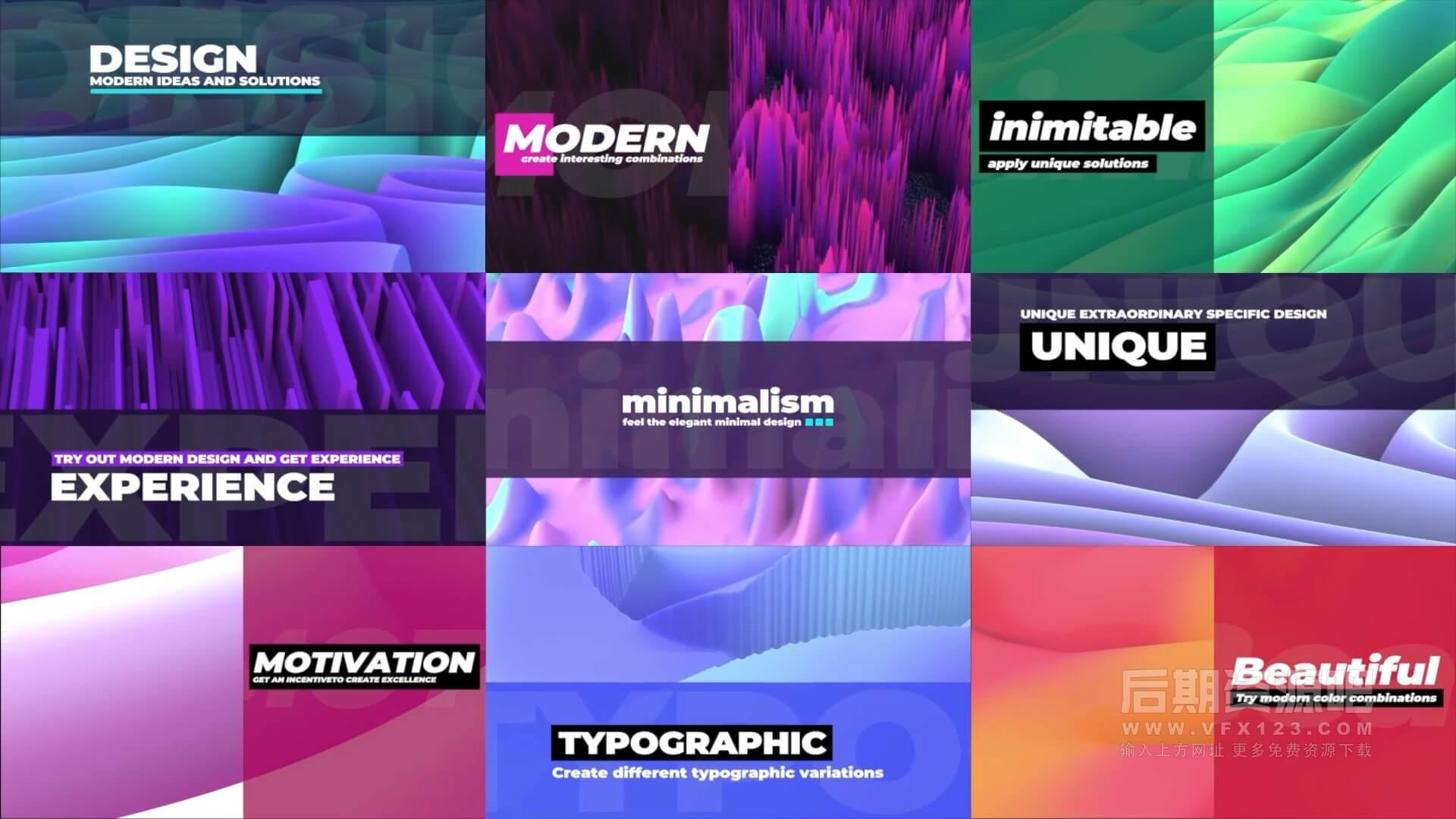 fcpx插件 侧边栏版式标题动画模板+背景素材 Creative Slide