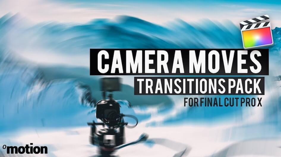 Fcpx插件 40组专业模拟相机摇移推拉晃动旋转效果过渡转场预设 Camera Moves