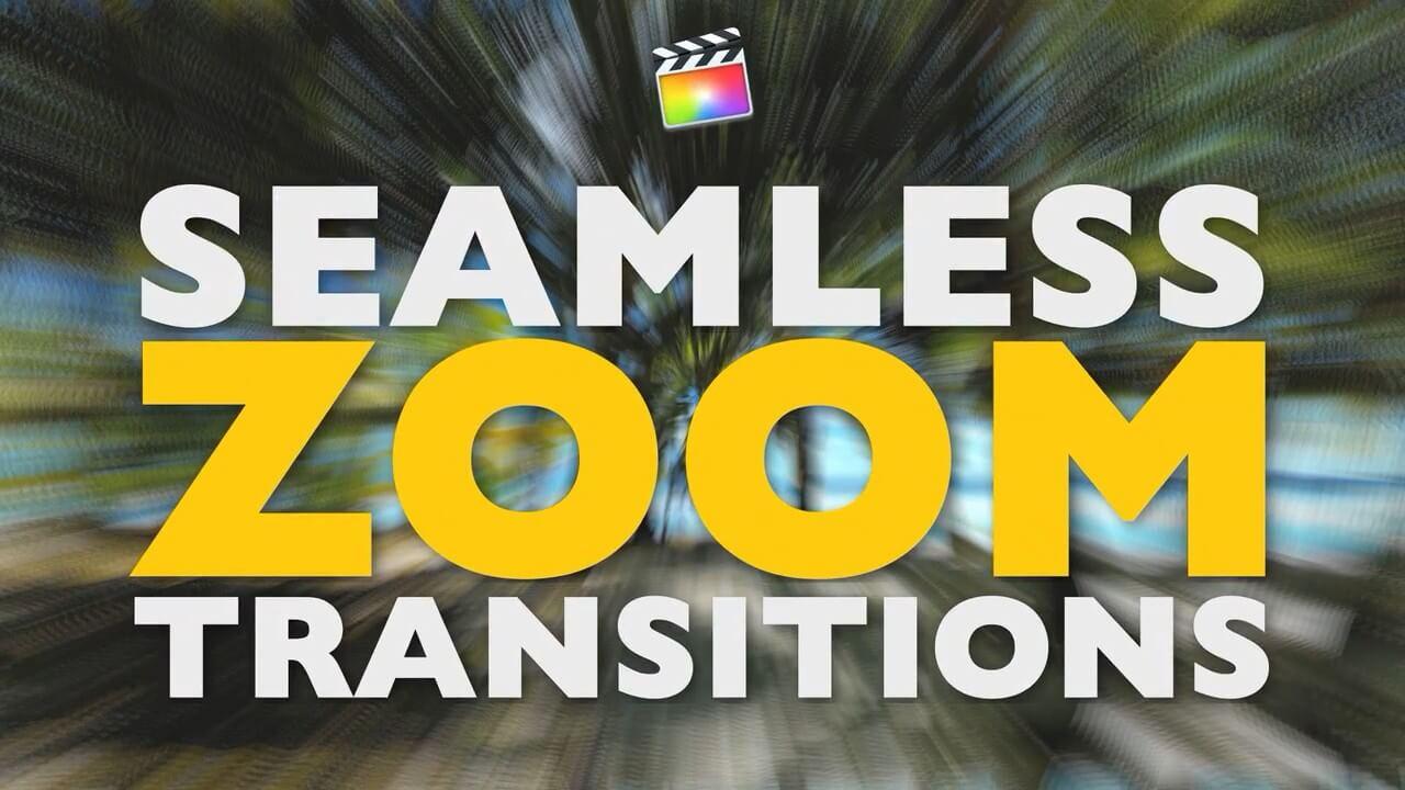 fcpx插件 54组实用炫酷缩放旋转过渡转场预设 Zoom Transitions