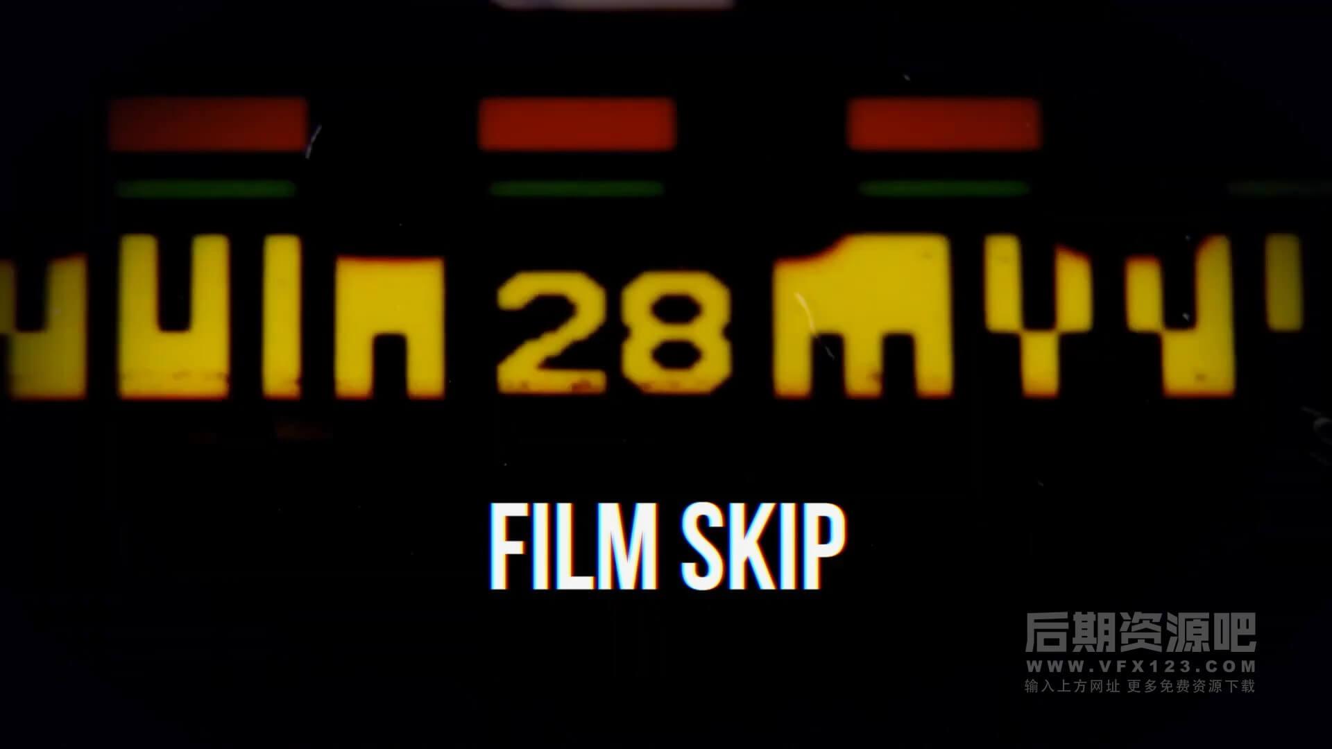 fcpx插件 40组专业文字标题动画效果预设 支持M1 CineFlare CineText V2