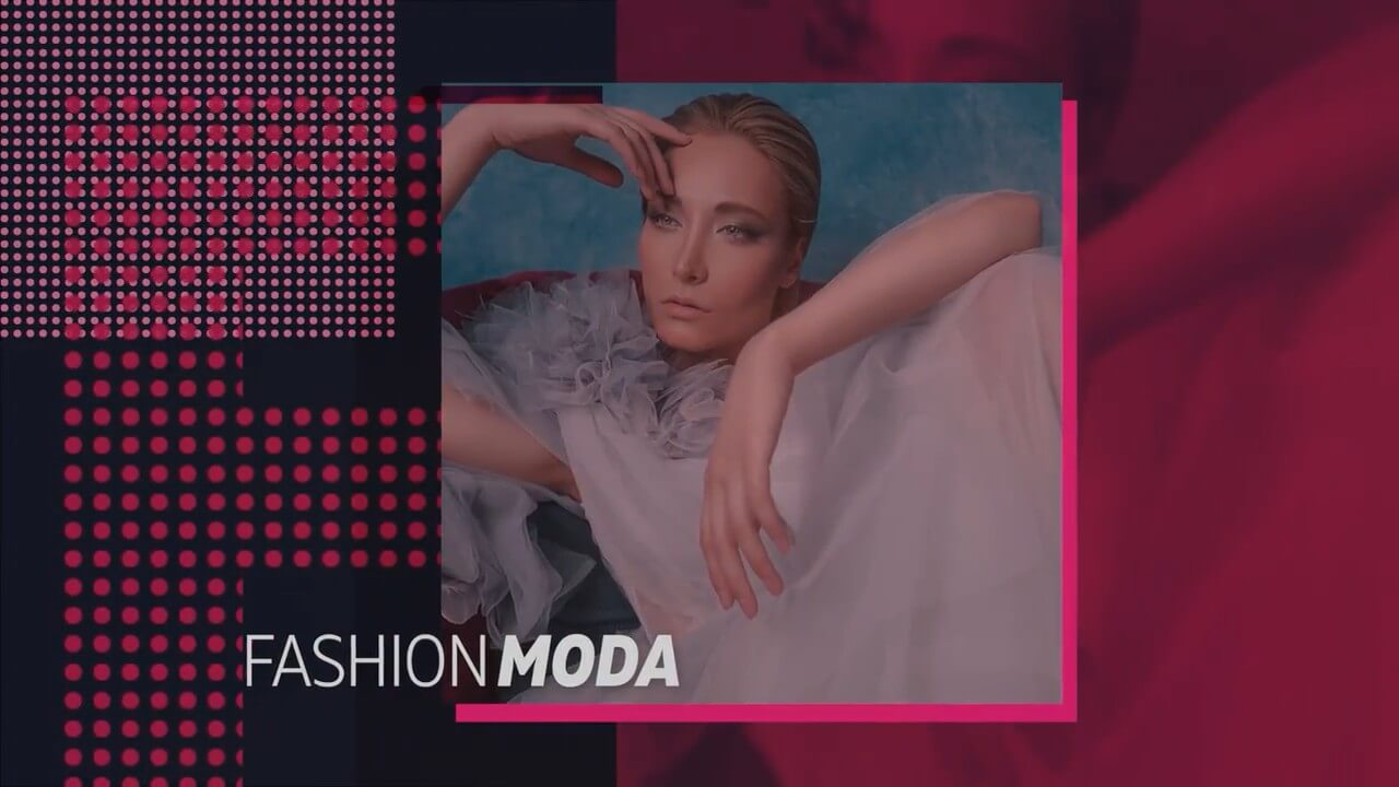 fcpx插件 时尚炫酷个人写真推广宣传图文展示模板 Fashion Glitch Promo