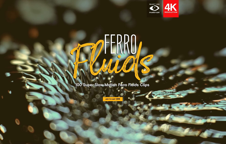 视频素材 100个微观铁屑有机物特写动画 特效合成素材 Ferro Filings BBV20