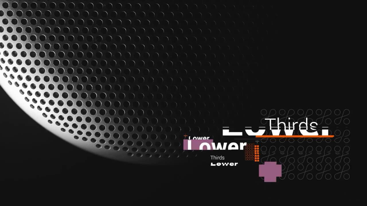fcpx插件 4K故障干扰效果数码科技类文字标题动画预设 Glitch Titles Pack