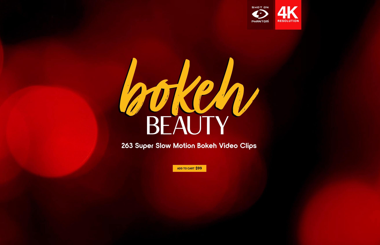 263个4K镜头散景彩色光斑闪烁炫光叠加动画 特效合成素材 Bokeh Beauty BBV15
