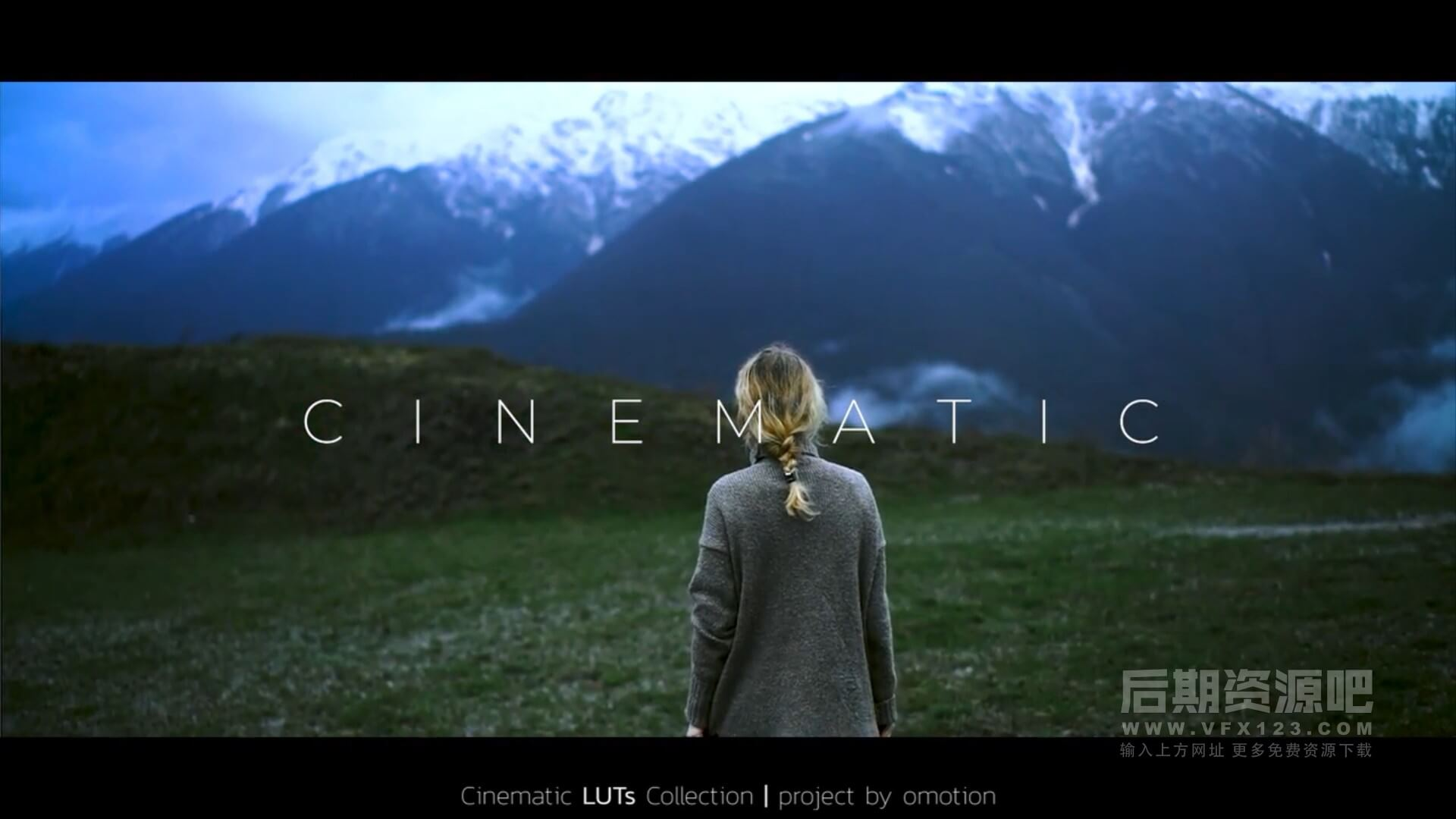 LUTs预设 50组电影预告片户外冒险旅行影片制作调色预设 Cinematic LUTs